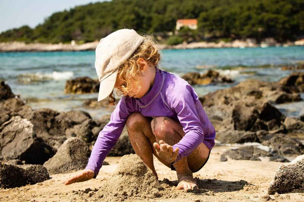 Przina Beach - Best Beaches on Korcula with kids