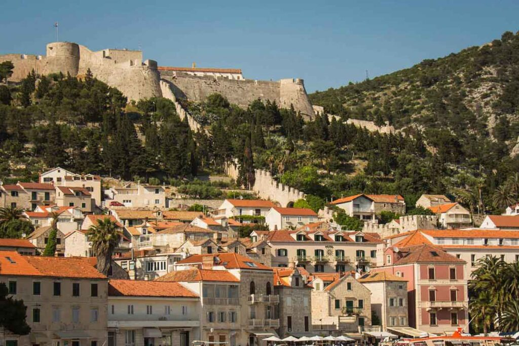 Hvar is one of the best places for a family holiday in Croatia