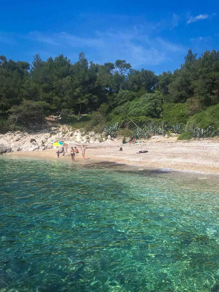 Best beach on hvar with kids