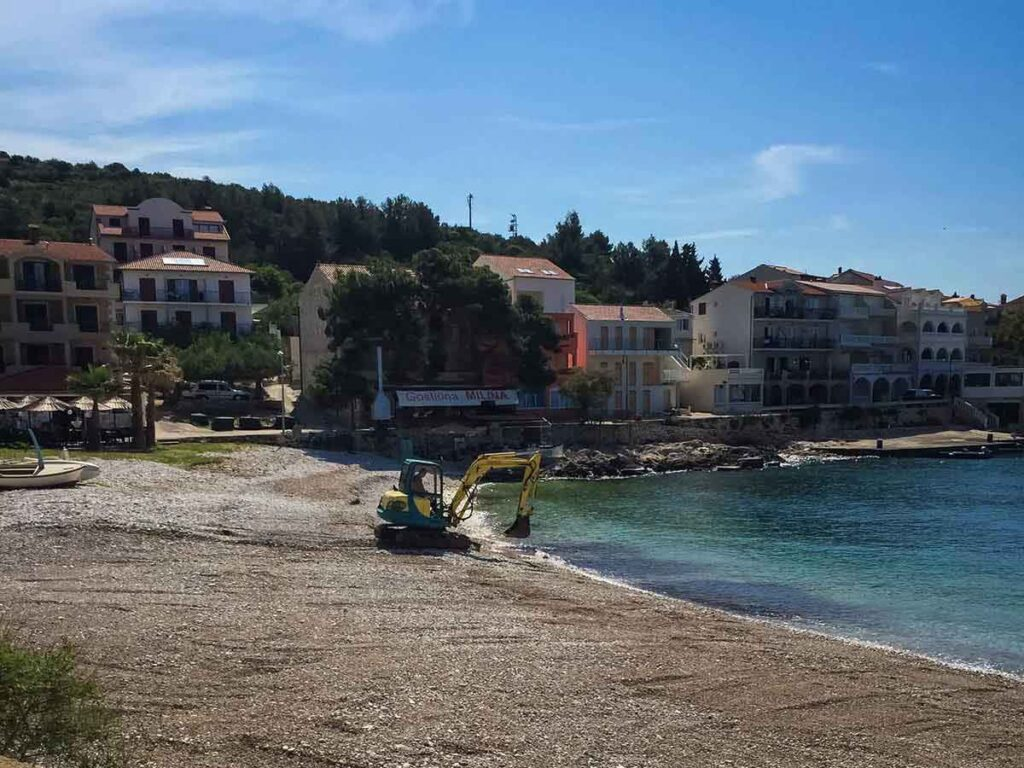 Milna Beach Hvar Island Croatia with Kids