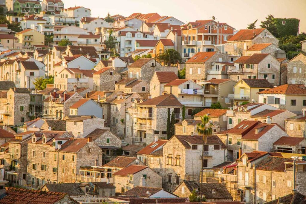 Hvar is one of the best places to visit in Croatia with kids