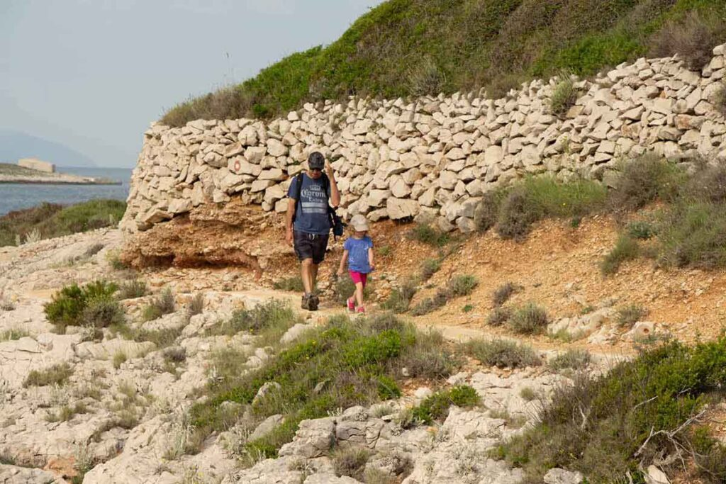 Hvar Hiking - things to do on Hvar with kids