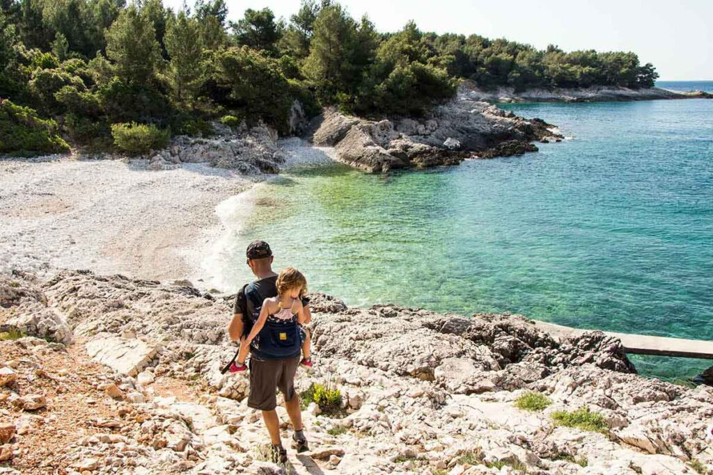 hvar croatia beaches with kids