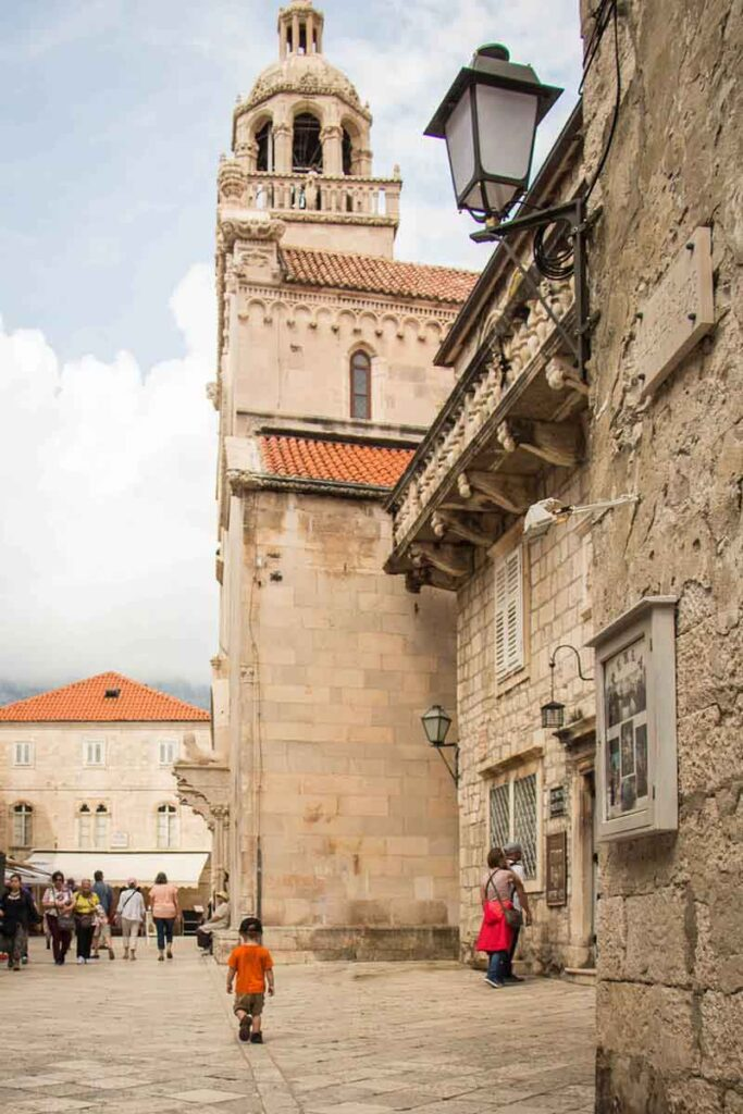 Exploring Korcula Old Town - Best Things to do in Korcula with Kids