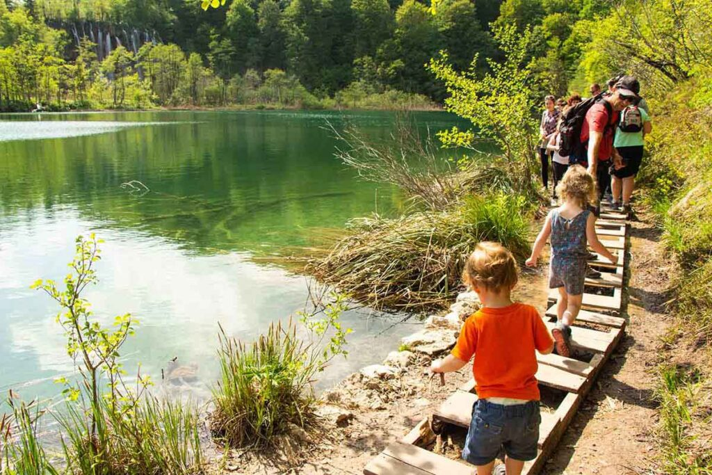 Do not bring a stroller to Plitvice Lakes National Park