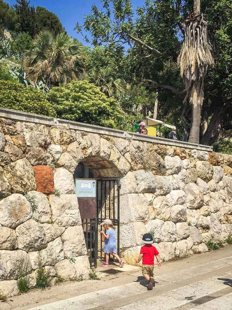 Walking up to the Fortress - Hvar Things to do with kids