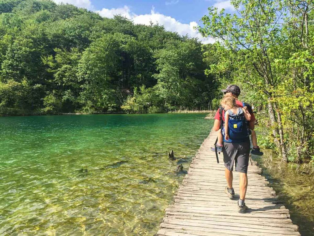 Tips for taking toddler to Plitvice Lakes National Park