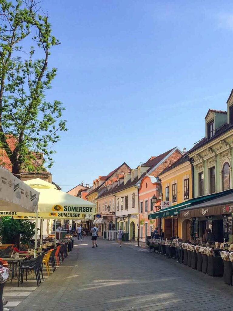 Tkalciceva Street  - Zagreb what to do