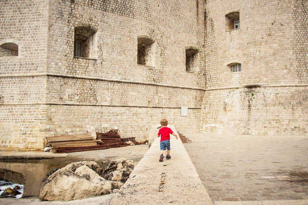 Places to visit in Dubrovnik with a toddler