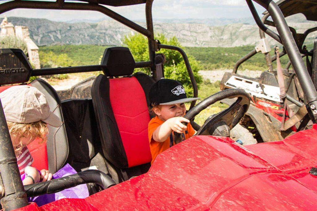 Dune Buggy Rentals Mount Srd in Dubrovnik