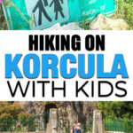 Hiking on Korcula with Kids