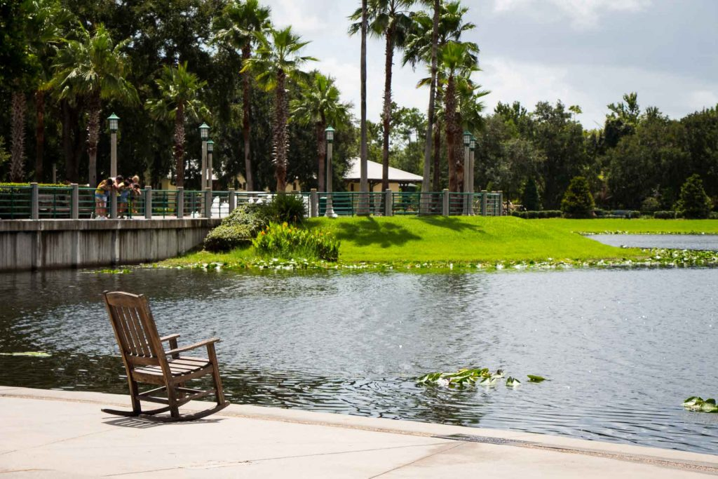 A visit to Celebration, Florida is a great non-Disney thing to do with kids in Orlando