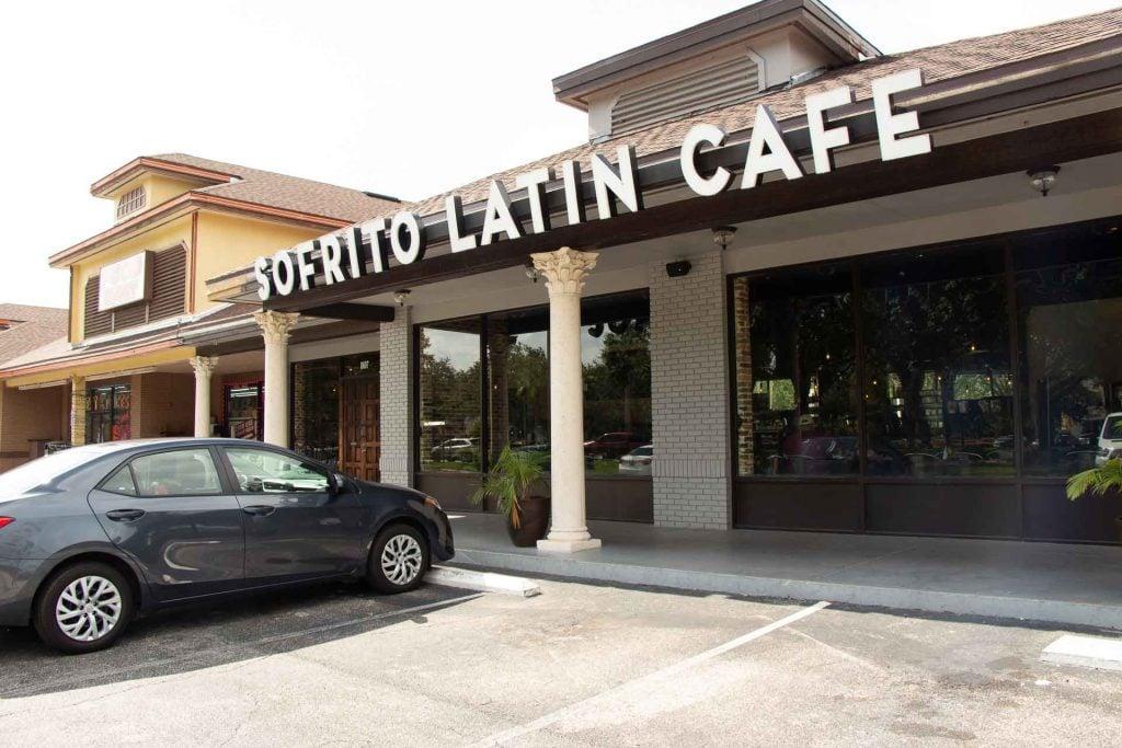 Kid-friendly Orlando Restaurants - Sofrito Latin Cafe with kids