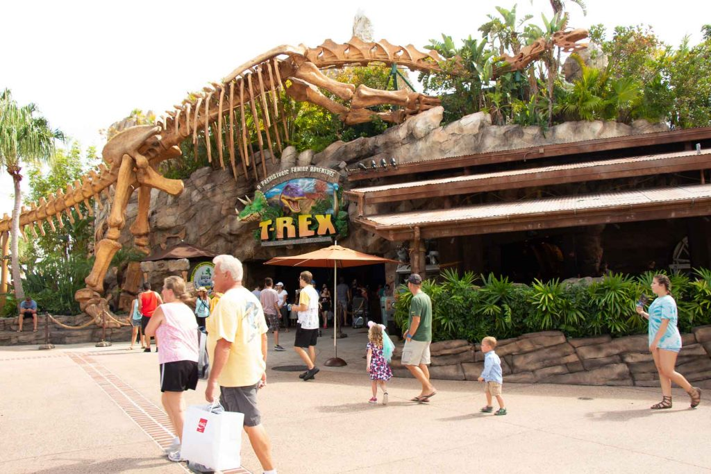kid-friendly restaurants in Orlando - T-Rex Cafe in Disney Springs
