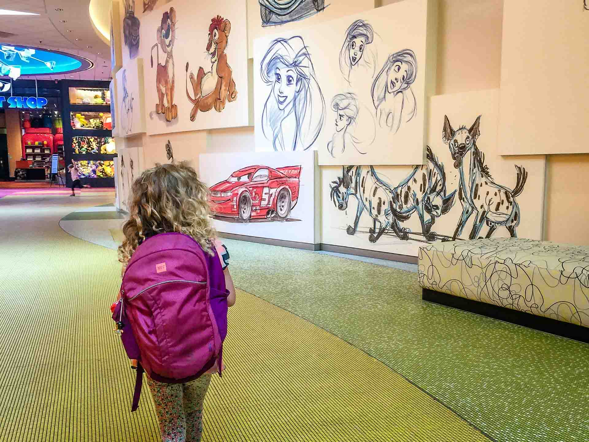 Art of Animation Disney Orlando with Kids