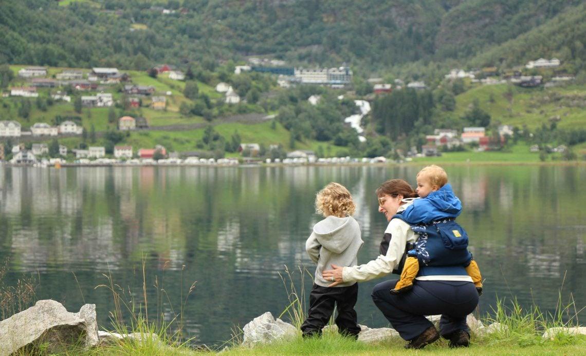 Geirangerfjord Norway with Kids