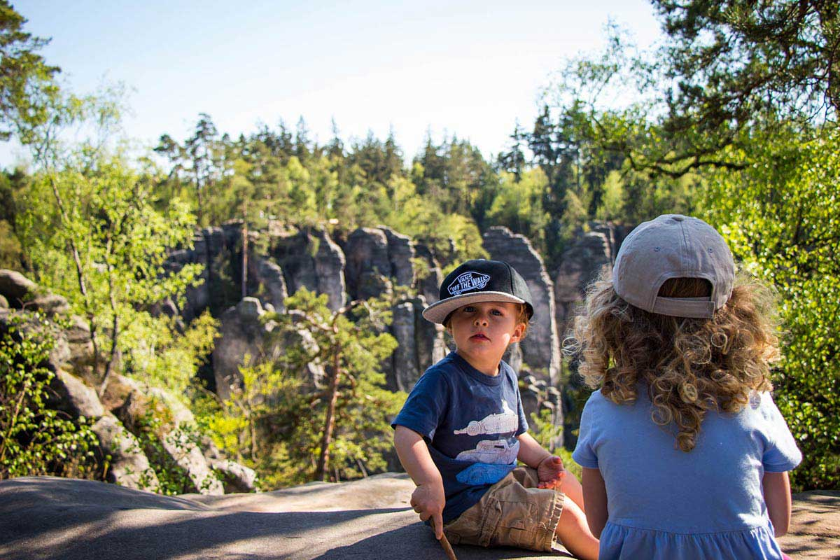 Bohemian Paradise Hiking with Kids