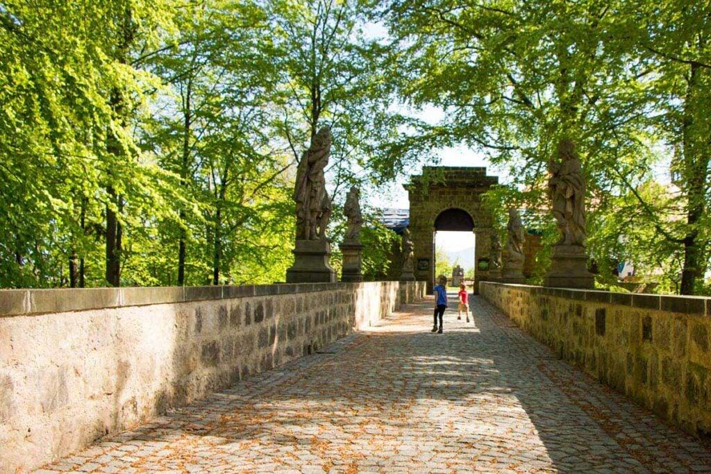 Valdstejn Castle Bohemian Paradise Czech Republic
