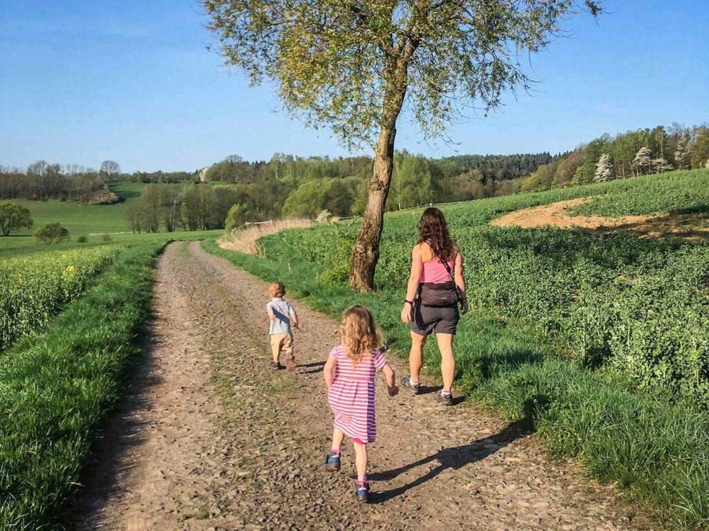 Hiking Bohemian Paradise Czech Republic with Kids