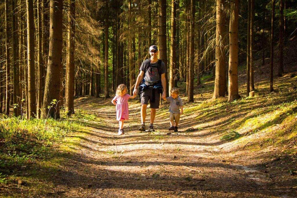 Cesky Raj Czech Republic hike with kids
