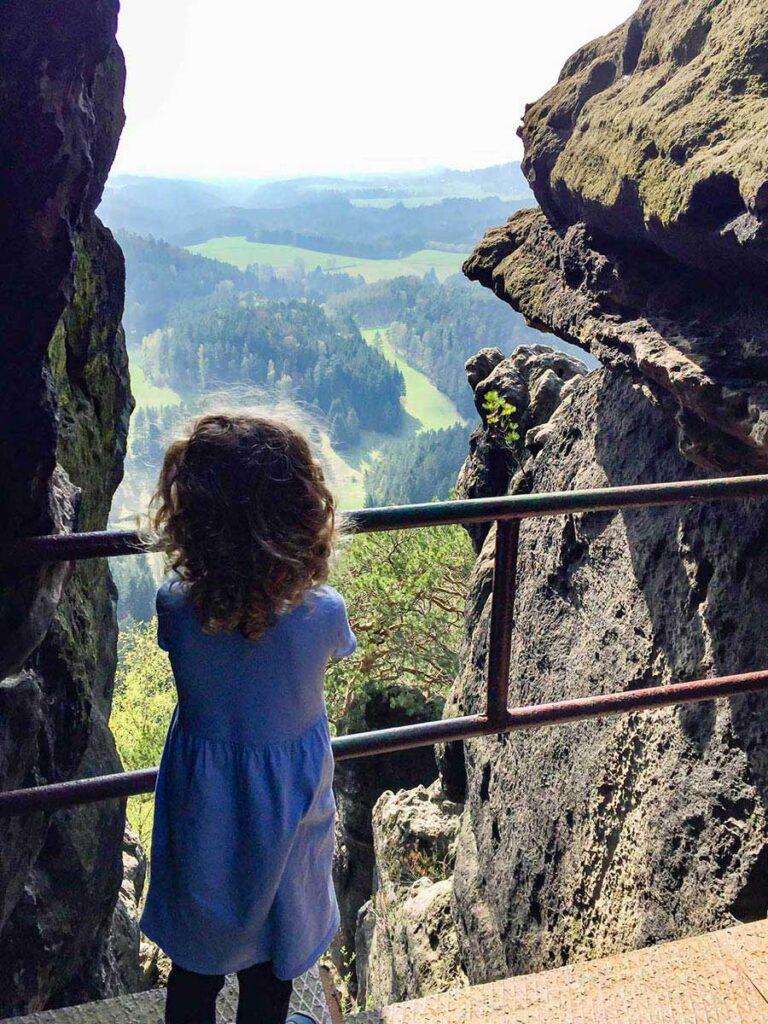 View from Mary Prospect Hike in Bohemian Switzerland