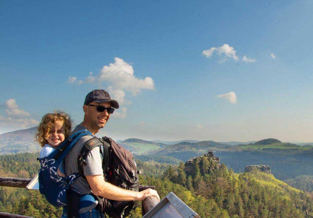 Vileminina Vyhildka Wilhelmine's View Bohemian Switzerland hikes