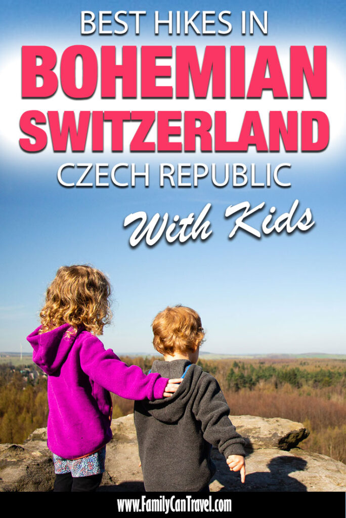 Best hikes in Bohemian Switzerland with Kids
