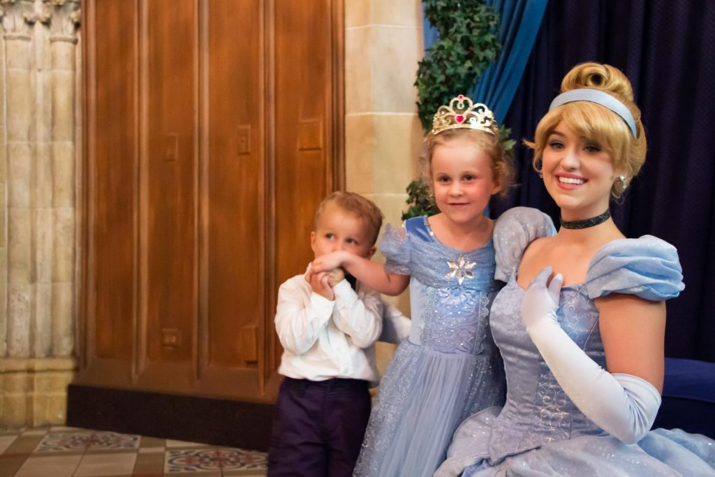 best places to visit in southern usa with kids - Walt Disney World in Orlando, Florida - Cinderella's Royal Table