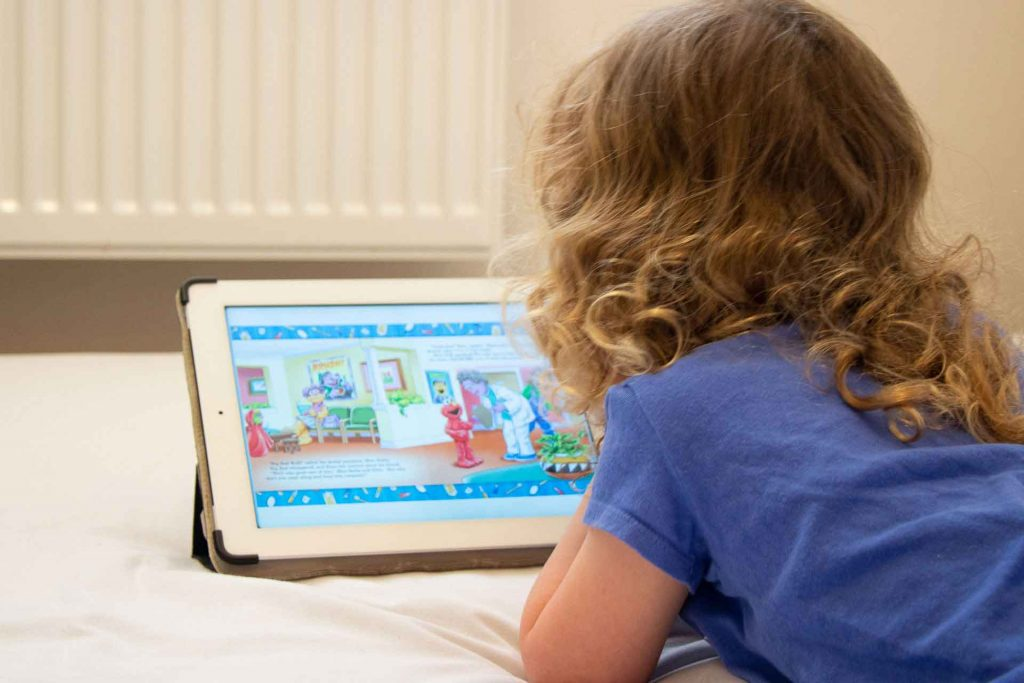The Epic reading books app is an excellent way to improve reading skills in children