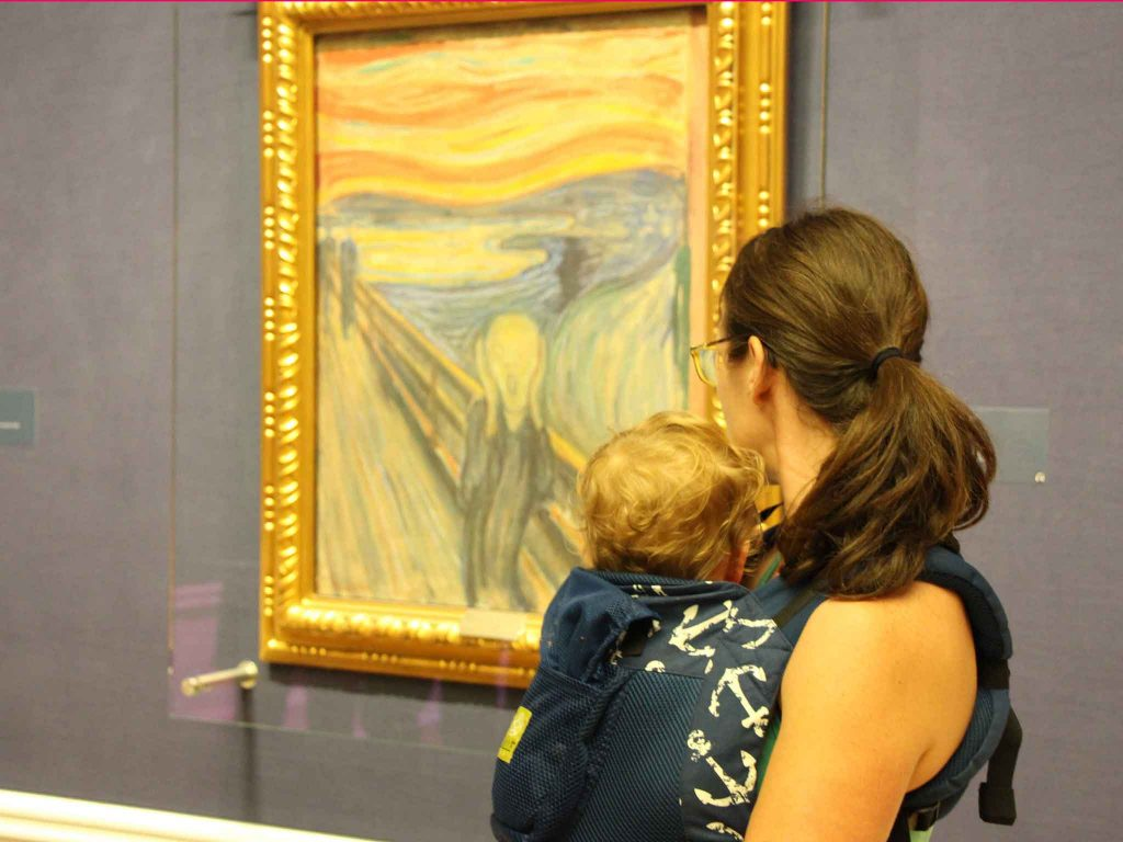"""Use your Oslo Pass to visit the National Gallery for free to see Edward Munch's famous """"The Scream"""" painting"""