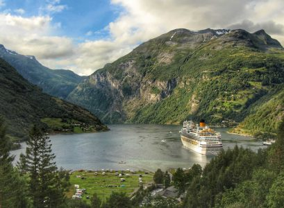 Geirangerfjord Norway with Kids