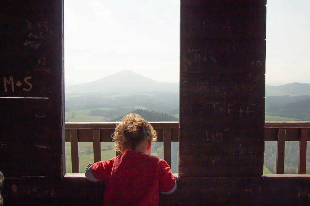 Mary Prospect Lookout - Bohemian Switzerland Hiking Trails