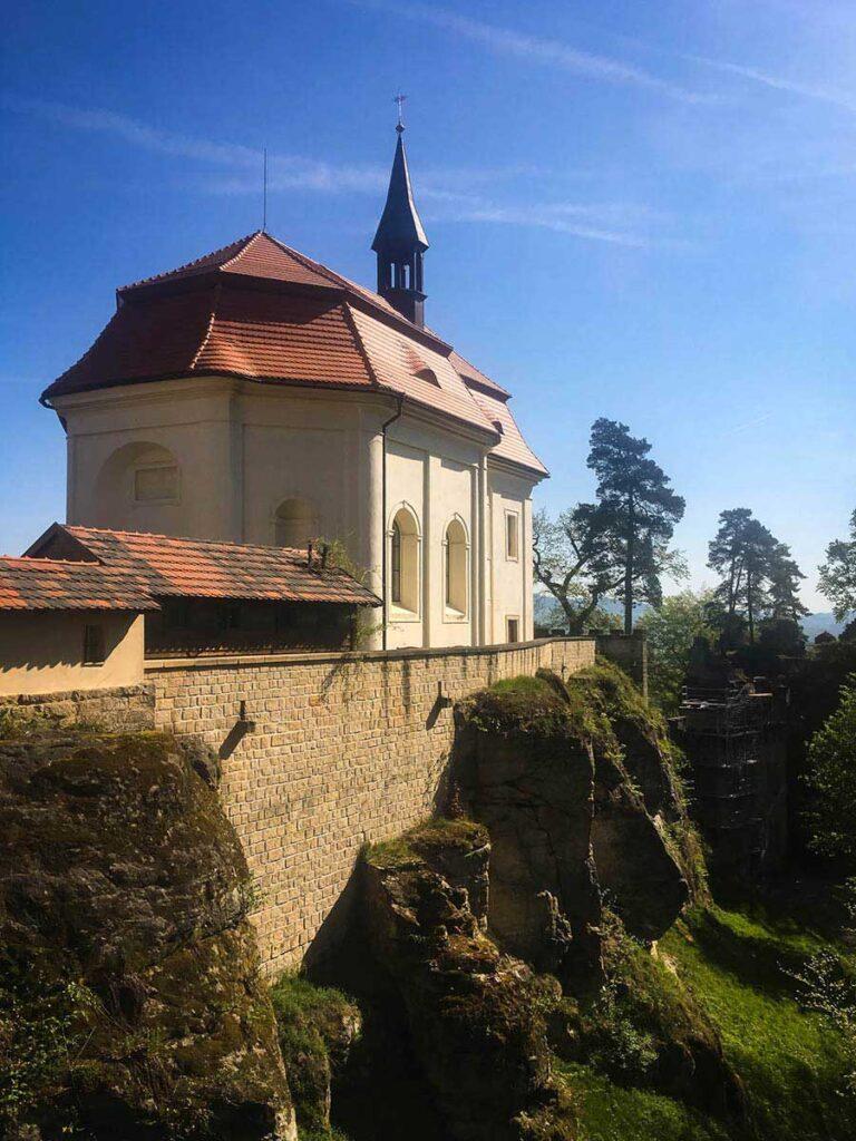 View of Valdstejn Castle Bohemian Paradise - things to do