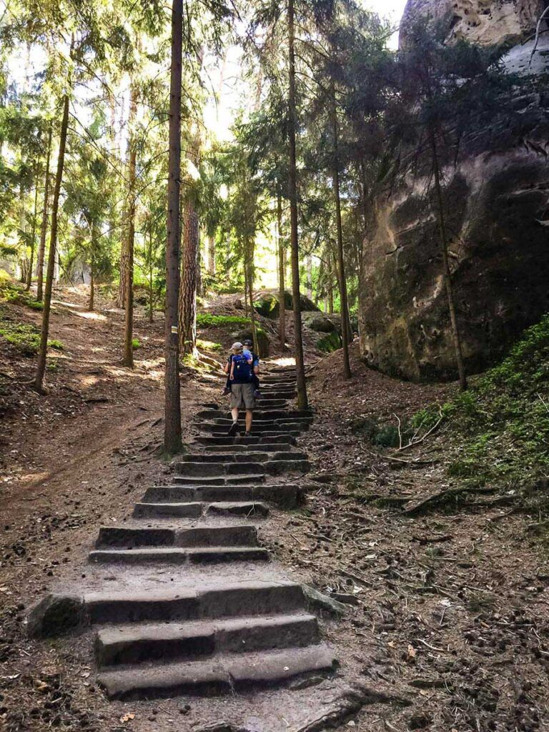Bohemian Paradise Hiking with Kids   Family Can Travel