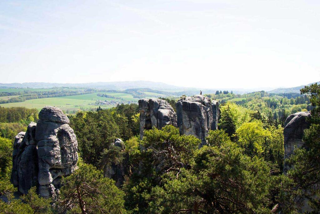 best hiking trails in Bohemian Paradise