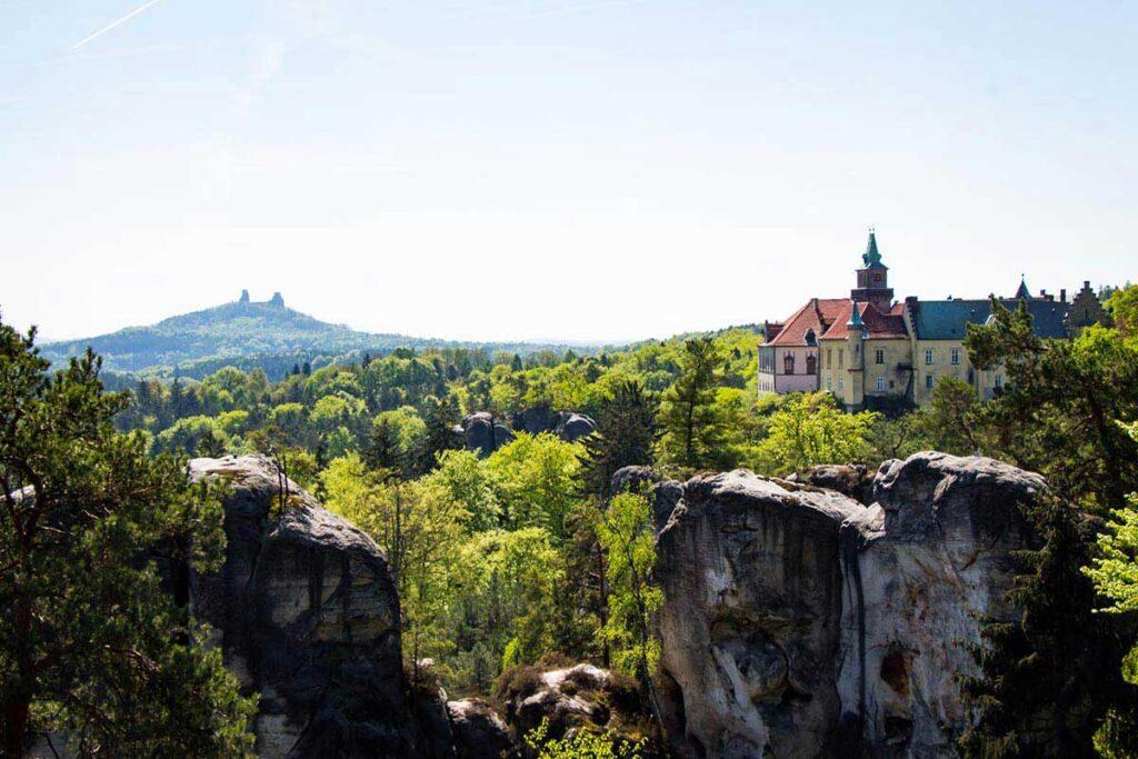 Valdstejn Castle  in Cesky Raj Czech Republic