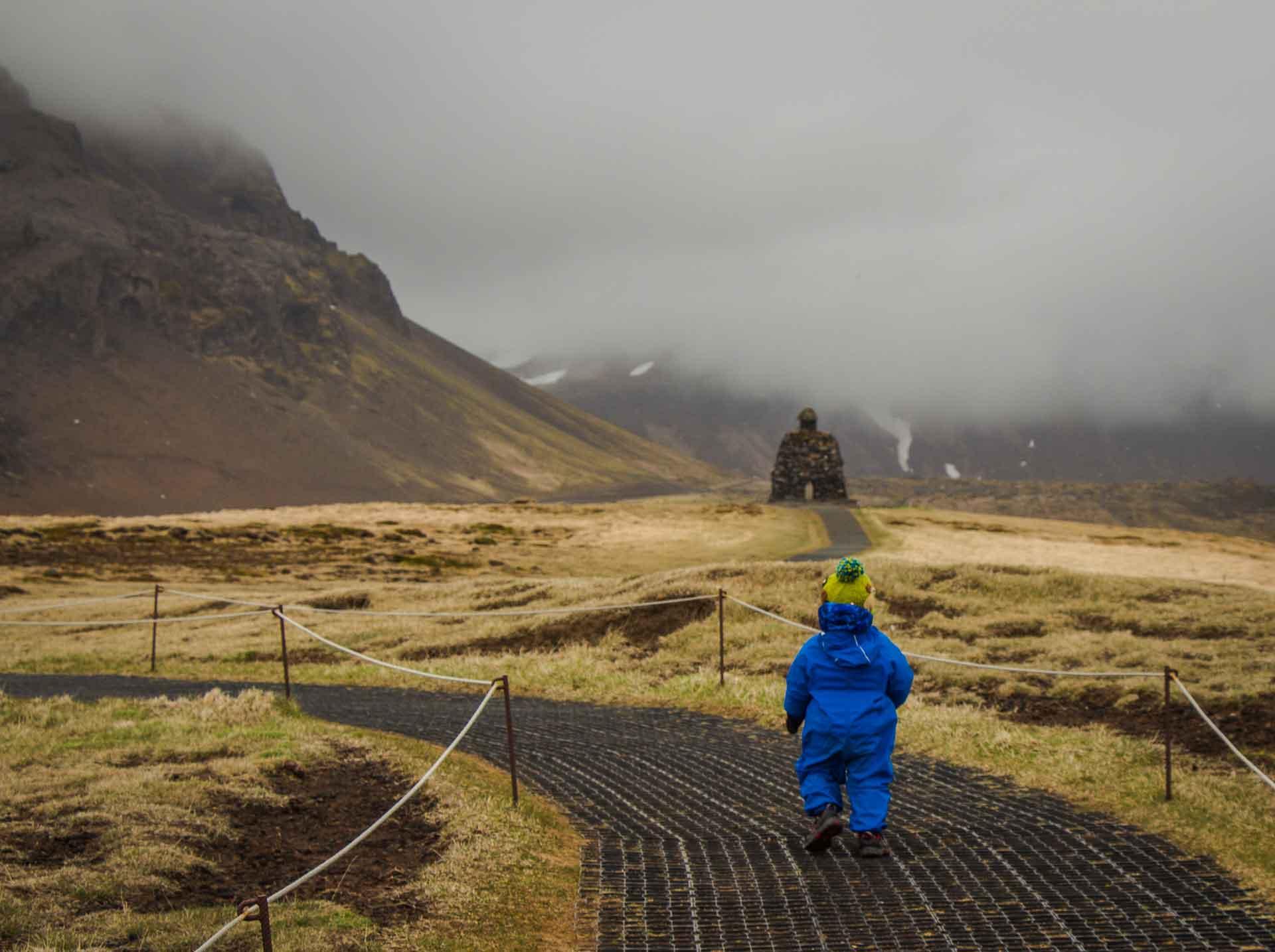 Iceland Arnarstapi bardur snaefellsnes