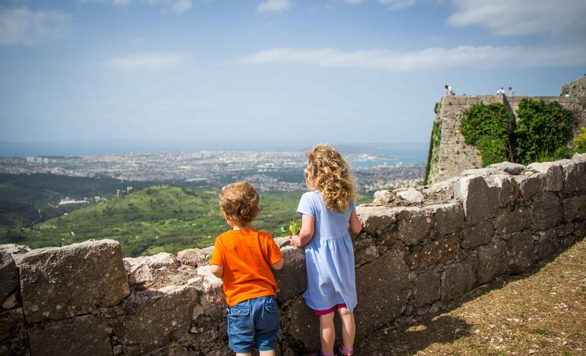 Klis Fortress Split Croatia with Kids