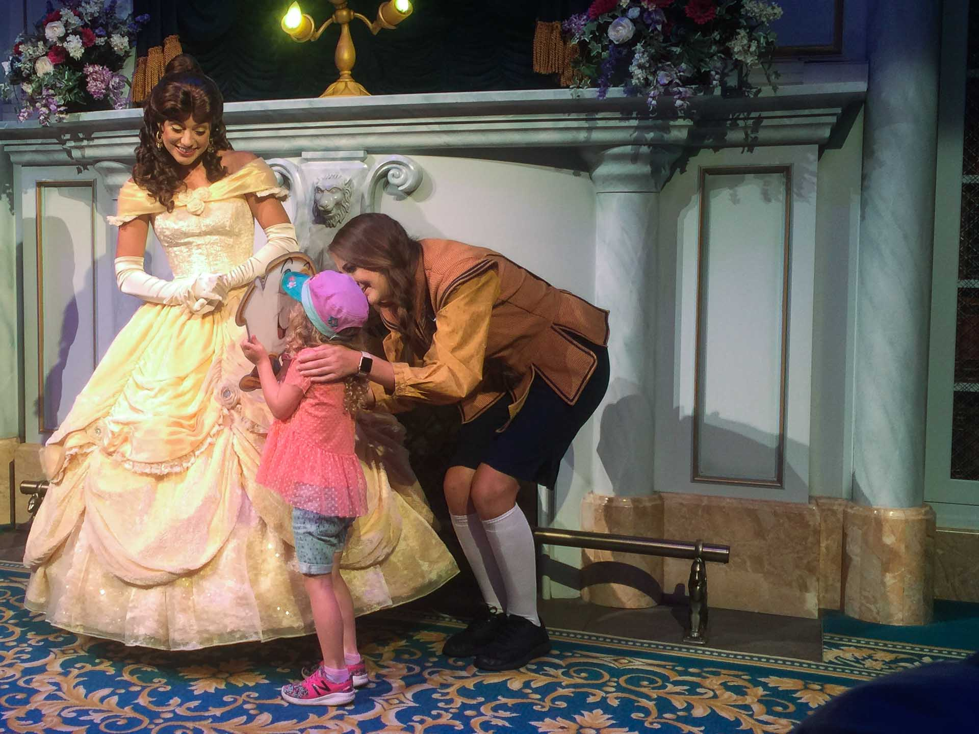 Belle's Enchanted Castle with Kids