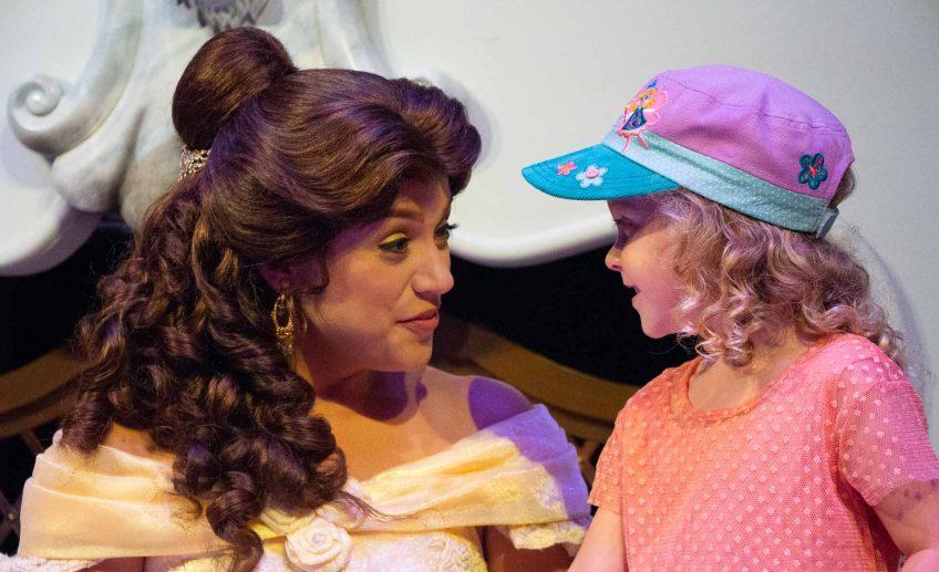 Meeting Belle at Walt Disney World