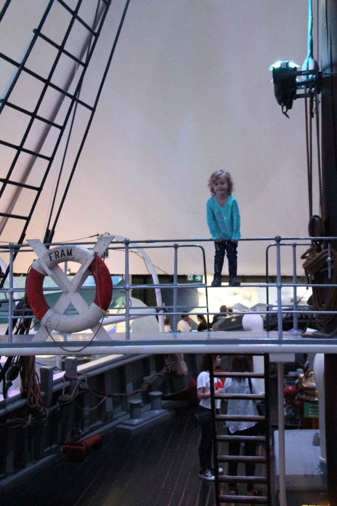 Oslo Pass Fram Museum with kids