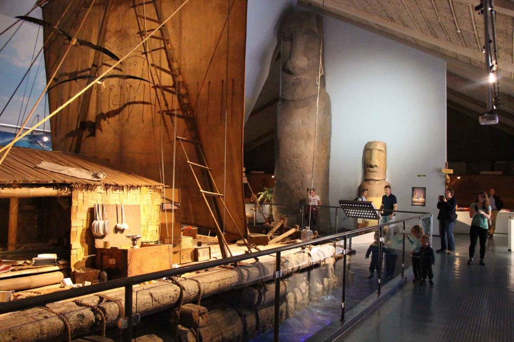 Museums included with Oslo Pass - Kon Tiki Museum with Kids