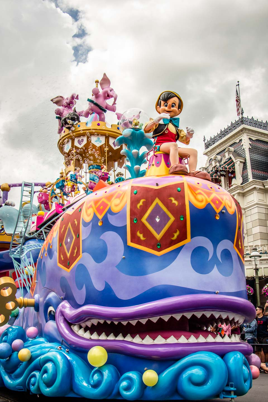 Parade at Walt Disney World Orlando with Kids