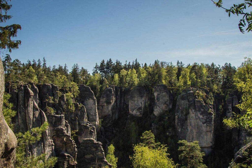 prachov rocks czech republic