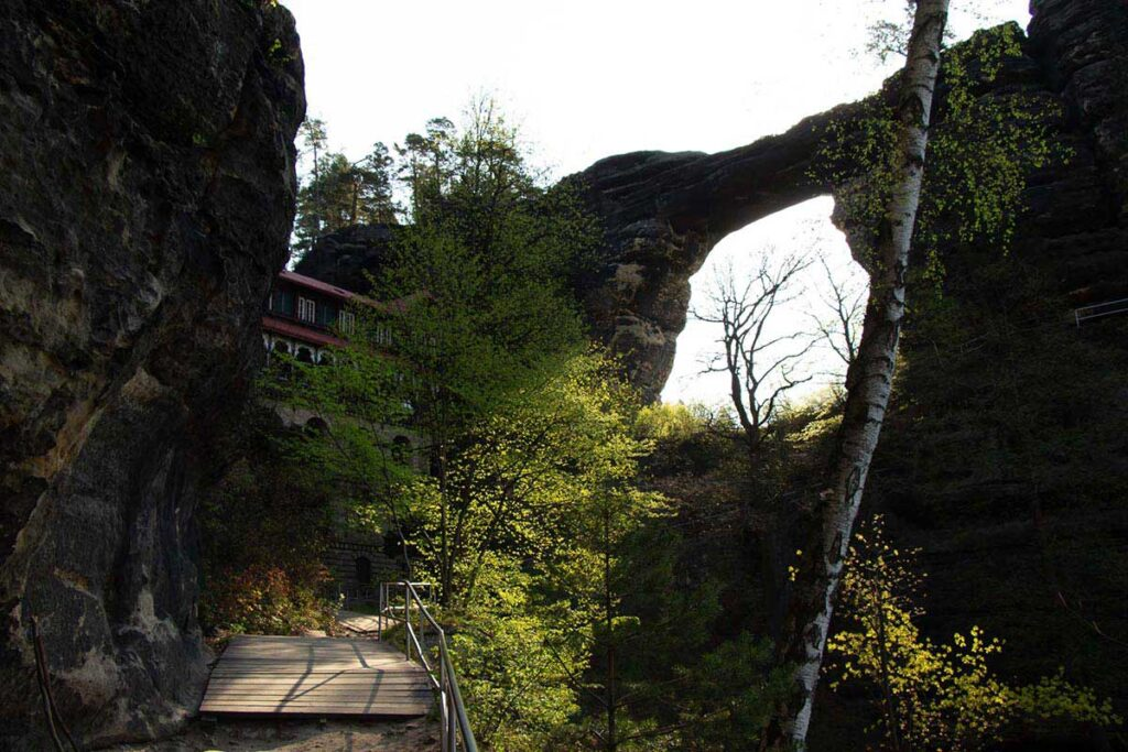 Bohemian Switzerland National Park Hiking to Pravcicka Brana