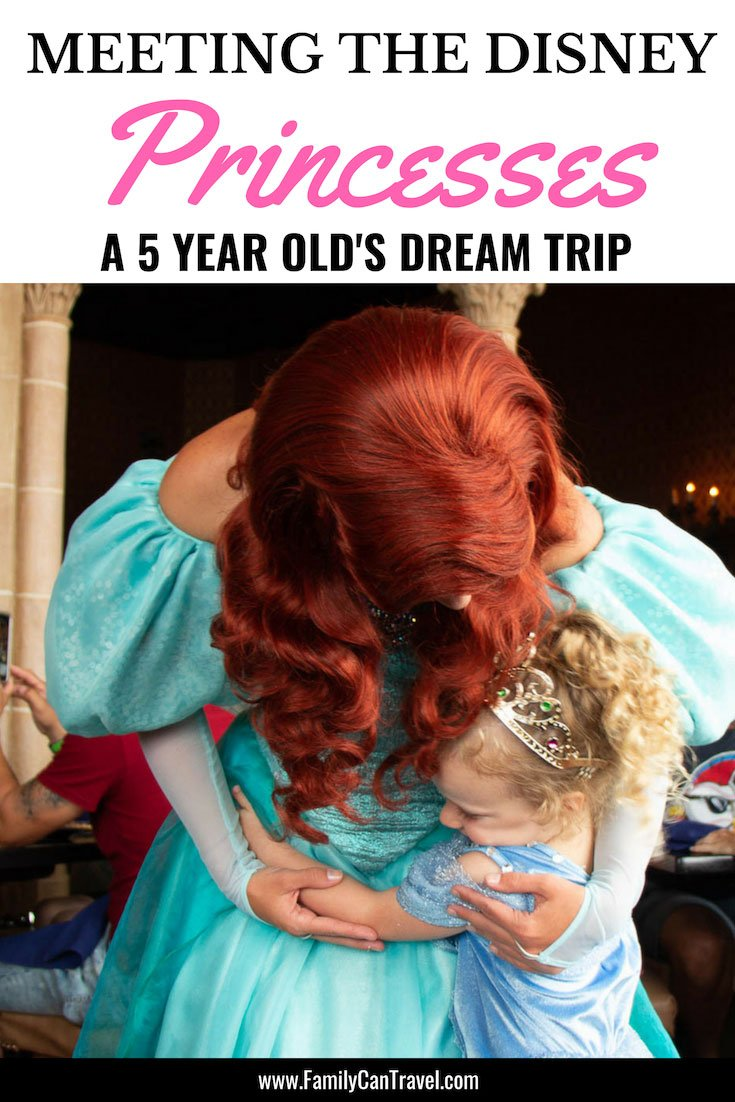 Does your child love the Disney Princesses? Here is how we planned a dream trip for our daughter who loves Disney Princesses. #familytravel #disney #magickingdom #waltdisneyworld || Travel with Kids | Family Travel | Disney with Kids | Walt Disney World | Magic Kingdom