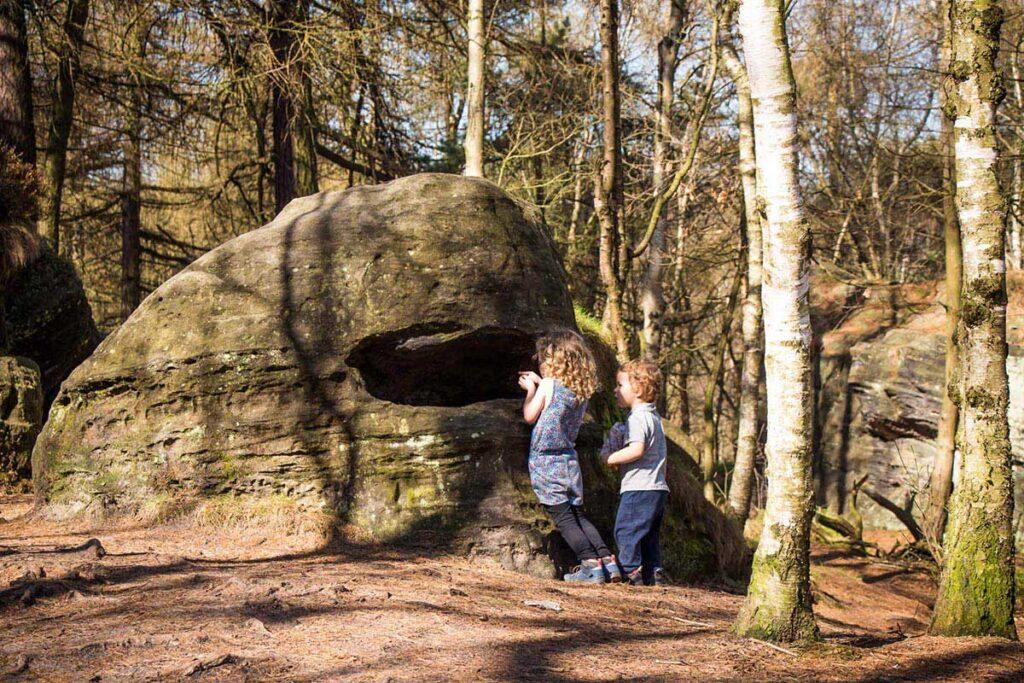 Rock Formations at Tisa Rocks with Kids - Bohemian Switzerland