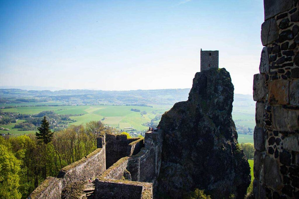 Visit Trosky Castle in Bohemian Paradise - things to do