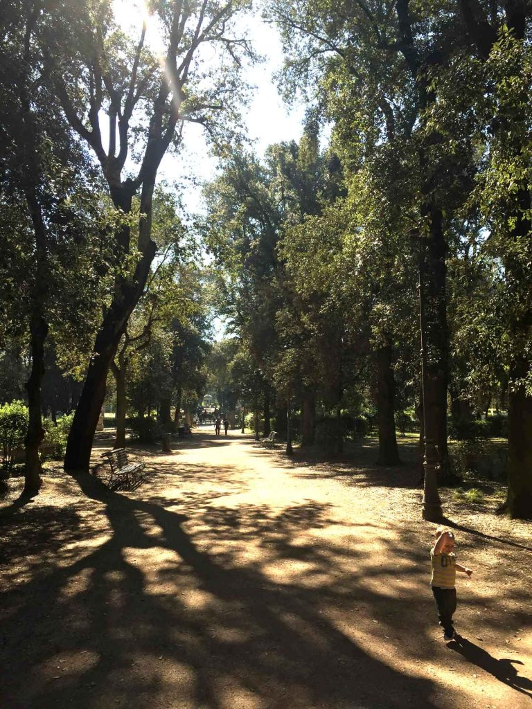 There is plenty to do in Villa Borghese with kids including a zoo and several playgrounds