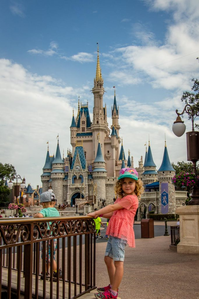 best destination on a southern states road trip with kids - Walt Disney World Orlando, FL
